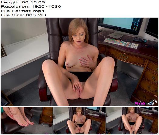WankItNow  Miss Amelia  The Office Slut  Part 1  Masturbation Instruction preview