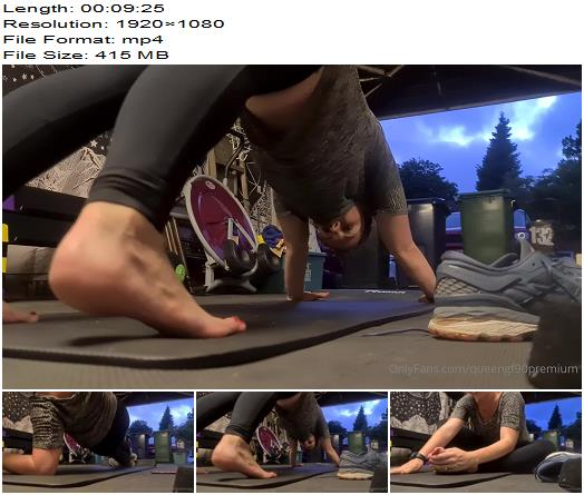 queengf90  Twice a week I ll cardio and follow it with abs  Foot Fetish preview